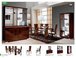 capri dining room alf italy modern formal dining sets dining