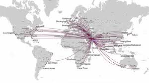 Singapore Air Route Map by Qatar Airlines Bali Aero Travel