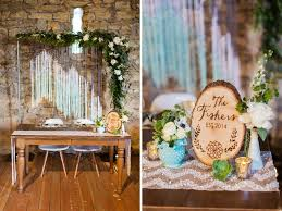 wedding backdrop rustic rustic mint gold barn wedding greg