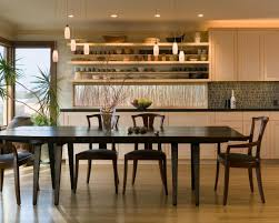 Kitchen And Dining Room Furniture Opened Up Kitchen Shares Space With Dining Room Finne Architects