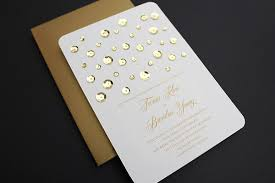 wedding invitations diy diy glam gold wedding invitation with sequins