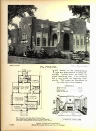 Ad House Plans And Even More Art Deco House Plans Art Deco Resource