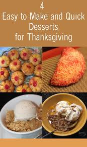 4 easy to make and desserts for thanksgiving sabrina s