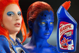 Lady Gaga Meme - lady gaga compared to toilet bleach and mystique as she tries and