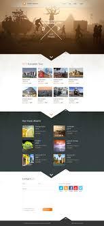webseiten design desert band website layout design inspiration inspiração