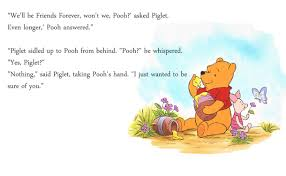 winnie the pooh sayings pooh friendship quotes williams