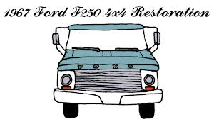 Vintage Ford Truck Colors - how to repaint and restore the inside cab of a classic 1967 ford
