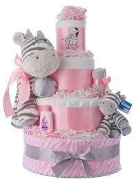 lil u0027 miss zebra baby shower diaper cakes unique diaper cake gifts