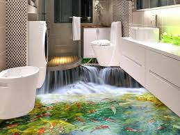 bathroom linoleum ideas fresh ideas 3d vinyl flooring linoleum impressive waterproof for