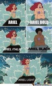 Ariel Meme - ariel wtf by keylordprime meme center