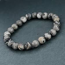 bracelet natural stone images Elastic rope natural stone bracelet the enchanted forest jpg