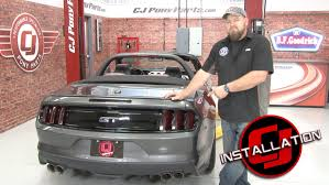 tail light tint installation 2015 2017 mustang complete front and rear light tint kit without