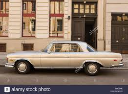 classic mercedes berlin march 24 a classic mercedes benz w108 250 se coupe from