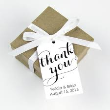 thank you favor tag large size 36 pieces