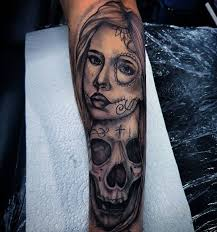 50 beautiful day of the dead tattoos ideas and designs 2018