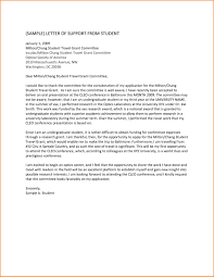 Sample Of Intent Letter For Business Proposal by Letter Of Support Example Letter Format Grant Cover Letter 2016
