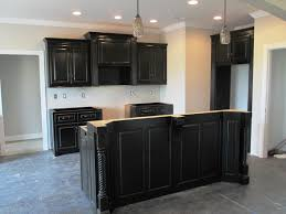 Kitchen Cabinets Designs Photos by Distressed Black Kitchen Cabinets Pictures I For Design