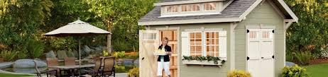 Backyard House Shed by The Weaver Barns Craftsman Shed The Ultimate Backyard Shedweaver
