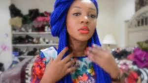 grey and purple combined together style box breads how to style blue box braids youtube