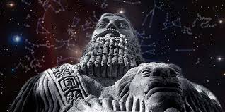 sumerians looked to the heavens as they invented the system of
