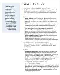 templates for business communication business action plan template 12 free sle exle format
