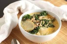 sausage potato and kale soup aka zuppa toscana