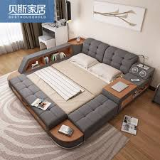 double bed usd 659 02 tatami bed main bedroom modern simple storage bed double