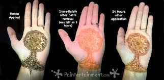 paintertainment henna is never black