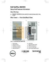 Dell Diagnostic Lights Download Free Pdf For Dell Optiplex 390 Sff Desktop Manual