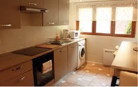 cuisine avec machine à laver gîte de chevreuse