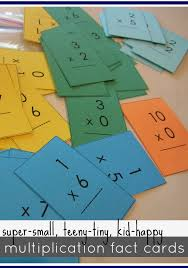 mastering multiplication tables with mini flash cards teach mama