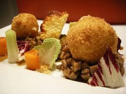 cuisiner les crozets de savoie crozets façon risotto poireaux et cromesquis d emmental de savoie