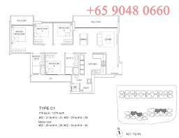 Buy Floor Plan by The Vales Ec The Vales Anchorvale Crescent Ec In Sengkang