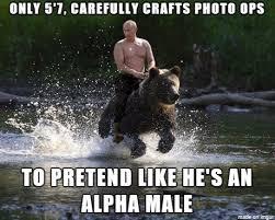 Alpha Meme - putin alpha male meme on imgur