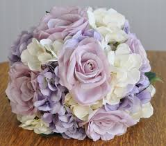 lavender roses wedding flower bouquet made with lavender roses lavender