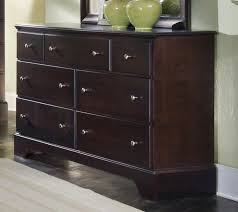 furniture dressers for dresser espresso cherry bedroom colored