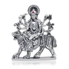 goddess maa durga idol for car dashboard home decor gifting