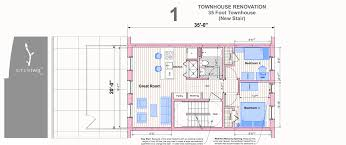 best layouts for townhouses different sizes simpletwig 20 x35 townhouse typical on commercial avenues that have shorter 60 lots