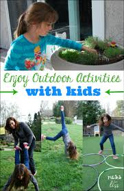 enjoy outdoor activities with kids mess for less