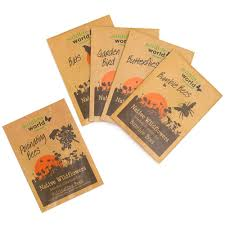 wildflower seed packets wildlife attractor seed kit rspb garden outdoors rspb shop