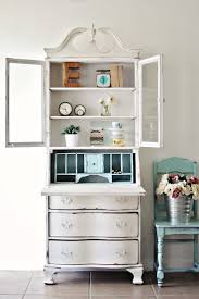 Girls White Desk With Hutch by Best 25 Secretary Desk With Hutch Ideas On Pinterest White