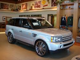 2009 range rover sport supercharged on 22