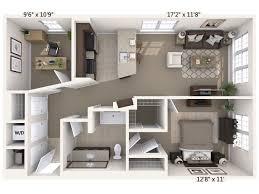 allegro hyde park fl azeele one bedroom with den