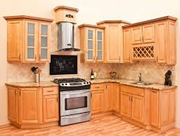 Unfinished Cabinets Kitchen Bright Kitchen Design With Neutral Wall Colors And Unfinished