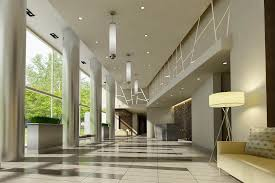 modern lobby reception counters are often an underlooked design opportunity for
