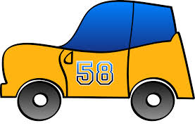 cartoon car png clipart 2d yellow fun car