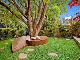 Tree Ideas For Backyard Tree Bench Designs That Literary Embrace Nature