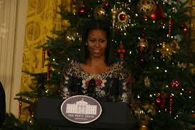 welcomes service members families to white house