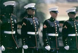 marine dress blues no uniform has ever looked better in my eyes