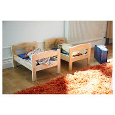 bedroom sets ikea diy ikea malm bed heightened u0026 padded ikea duktig dollu0027s bed with bedlinen set encourages makebelieve play